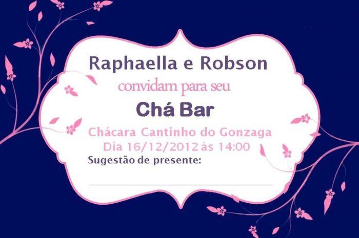 Convites chá-bar 1