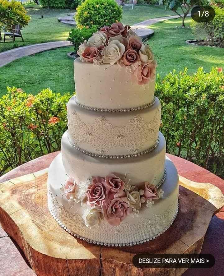 Bolos para Casamento - 2