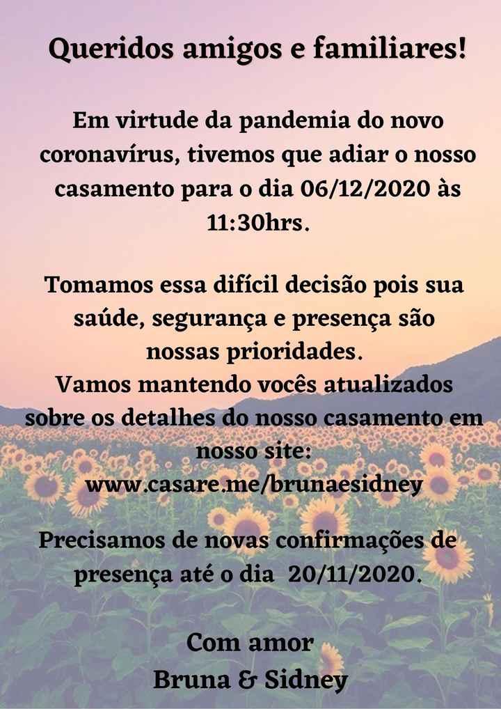 Save The Date - Nova data - 1
