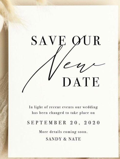 Convites já estavam pronto,hoje eu adie o casamento. o que fazer com os convites? - 3