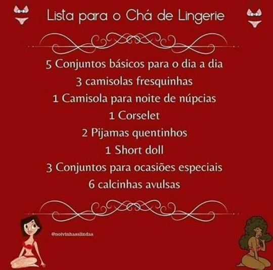 Chá de lingerie 💕 - 1