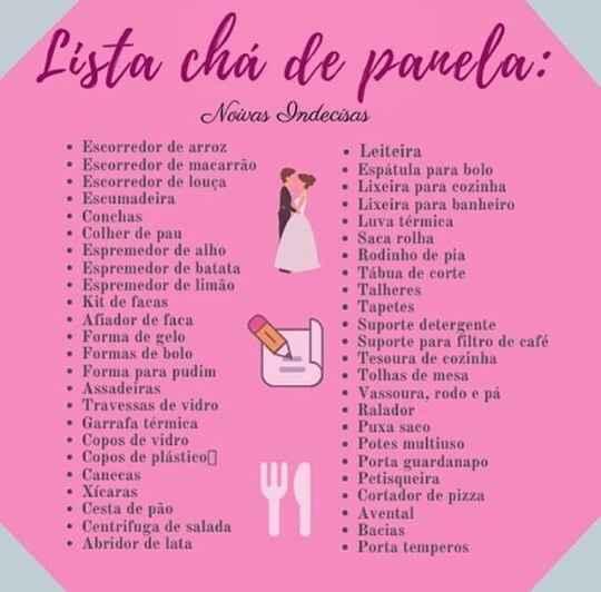 Chá de Cozinha  💕 - 1