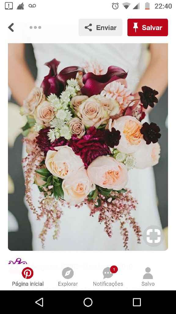 Bouquet de casamento - 1