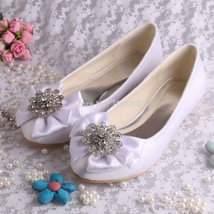 Eu serei uma noivinha que escolheu a sapatilha!