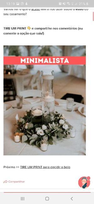 TIRE UM PRINT para decidir o estilo do casamento 25