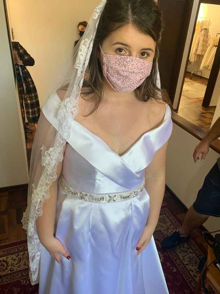 Vestido de noiva- preciso de ajuda - 3