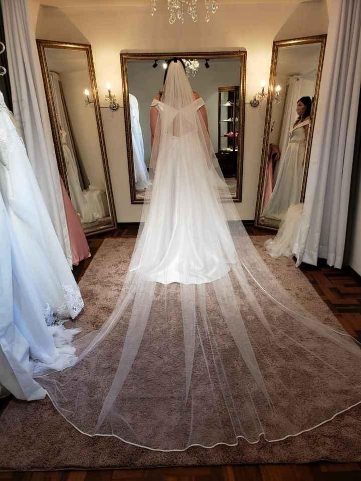 Vestido de noiva- preciso de ajuda - 1