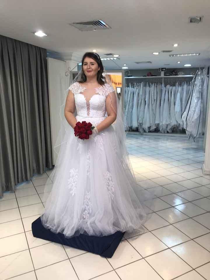 Vestido de noiva escolhido - 1