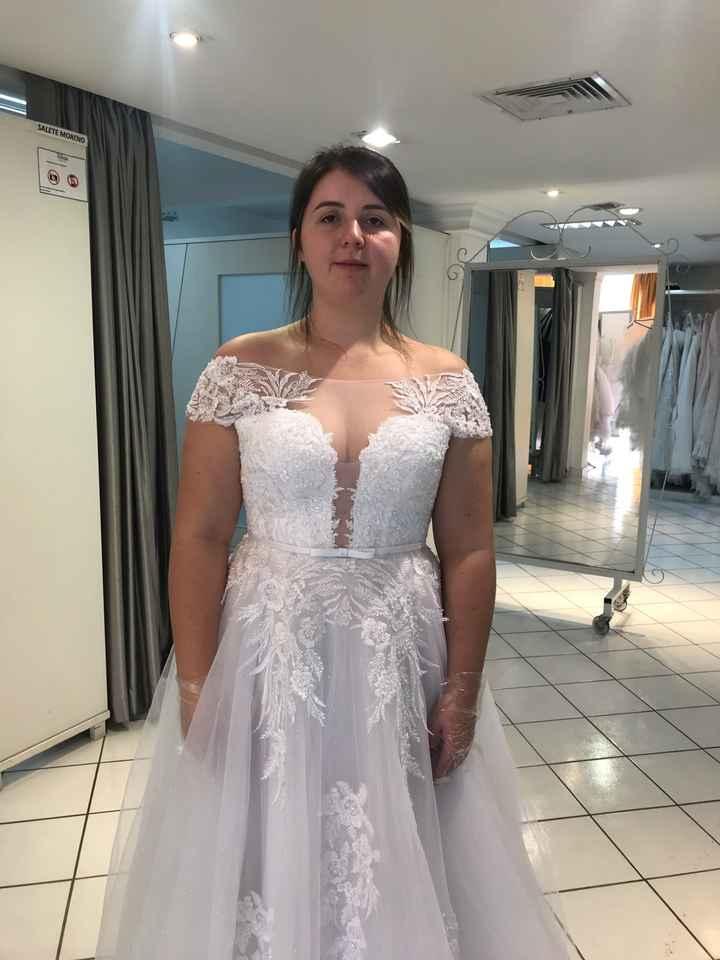 Vestido de noiva escolhido - 2