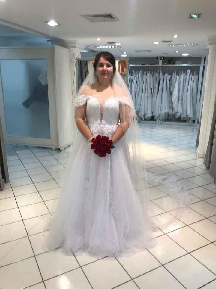 Vestido de noiva escolhido - 3