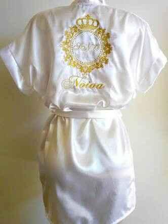 Robe da noiva (bruna) - 1