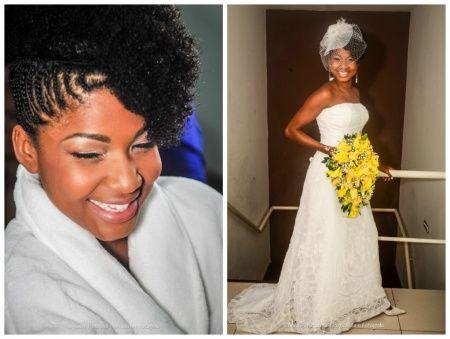 Noivas Negras Penteados E Maquiagem