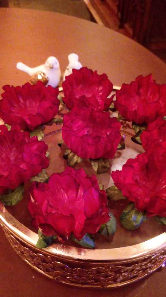 Flores artificiais - 4
