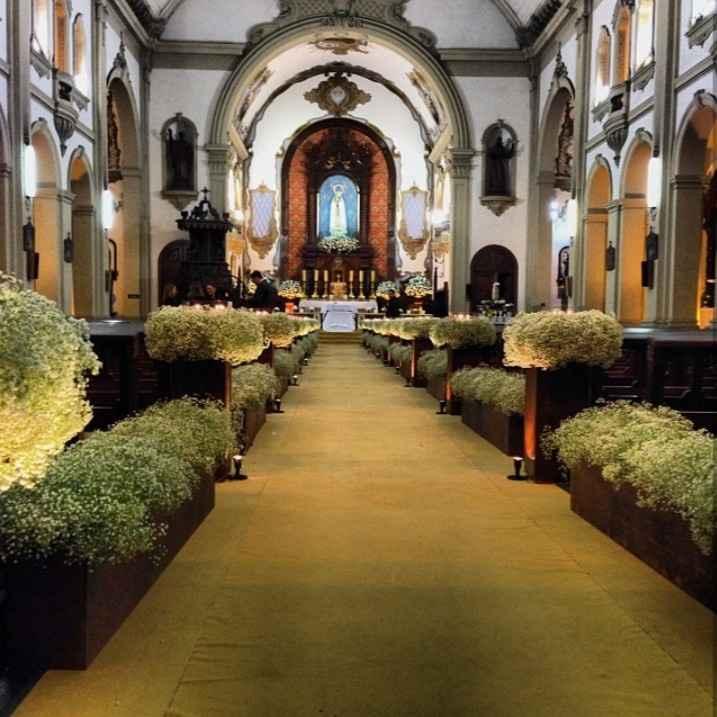 Minha igreja - Santuário Nossa Senhora do Rosário de Fátima - 1