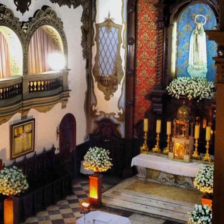 Minha igreja - Santuário Nossa Senhora do Rosário de Fátima - 3
