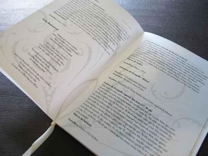 Missal (folheto de casamento) - 3