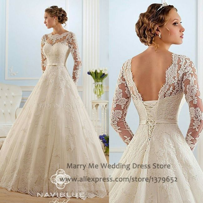 Meu vestido de noiva - 1