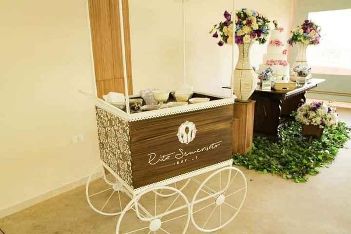 carrinho de brigadeiro gourmet