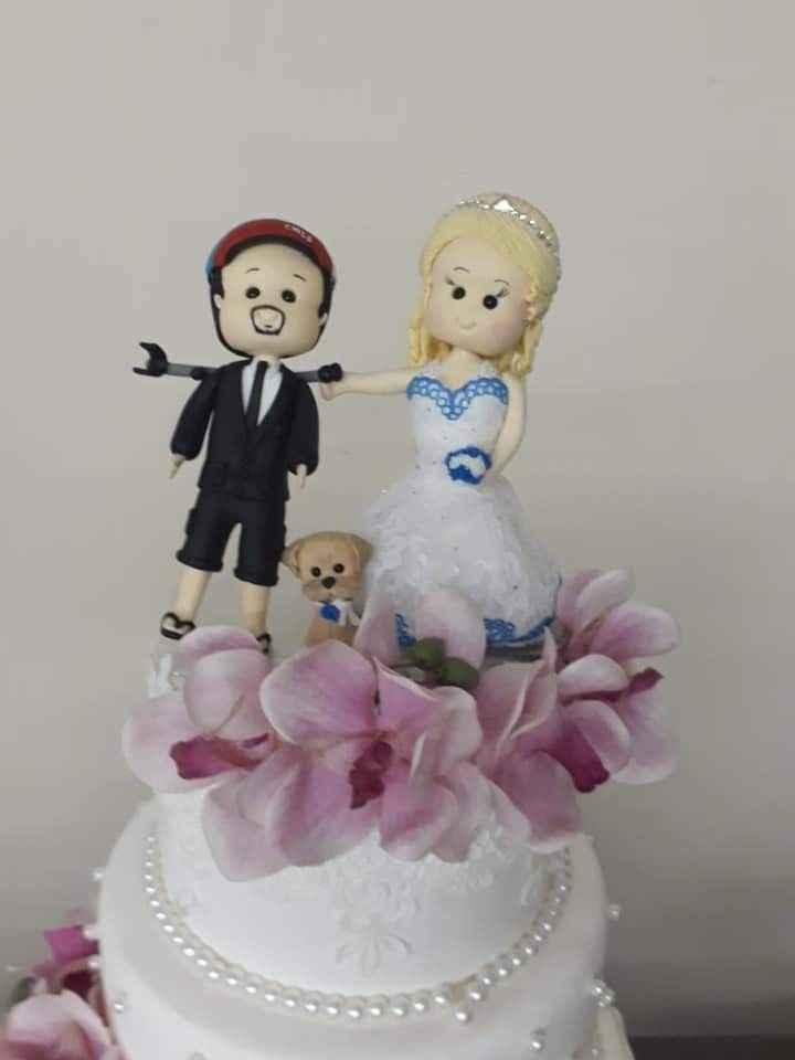 Que objeto te representaria no topo de bolo do casamento? - 1