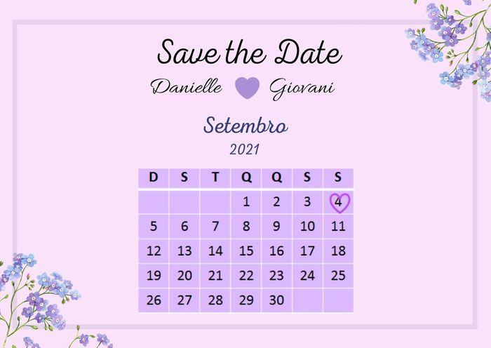 Meu Save the Date! 1