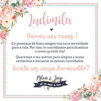 Convite Demoiselles - 2