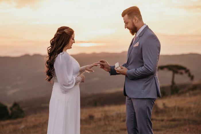 Caseeeeeiiiii!!!! 24.04.21 o elopement mais incrível 12