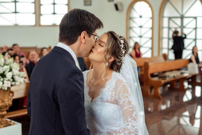 Casamentos reais 2019: o beijo no altar 6