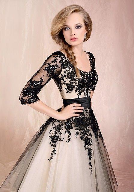 95d91d92e Vestido de noiva com preto