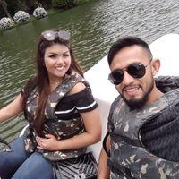 Alessandra e Marcus no Lago Negro em Gramado Foto Aqruivo pessoal