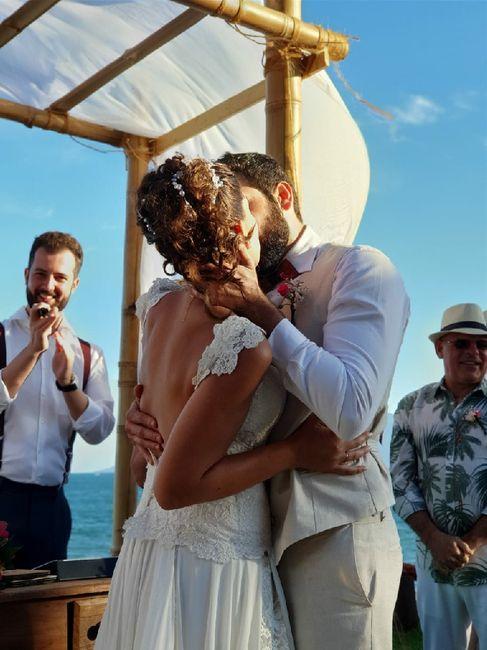 Casamentos reais 2019: o beijo no altar 9