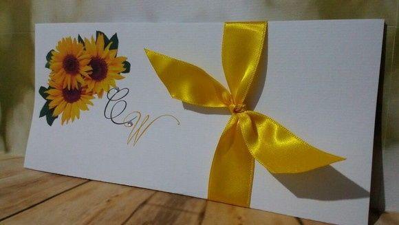 Convite azul e amarelo 2