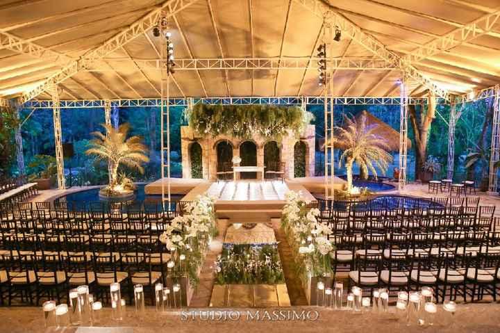 Lugar do sonho... Local do meu casamento: Espaço African House Garden - 1