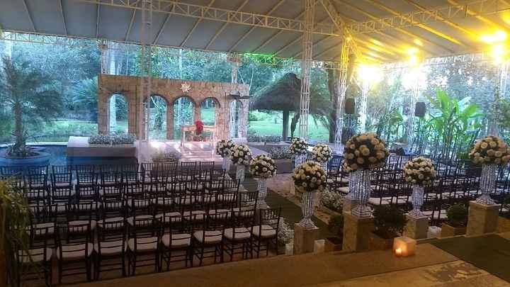 Lugar do sonho... Local do meu casamento: Espaço African House Garden - 2