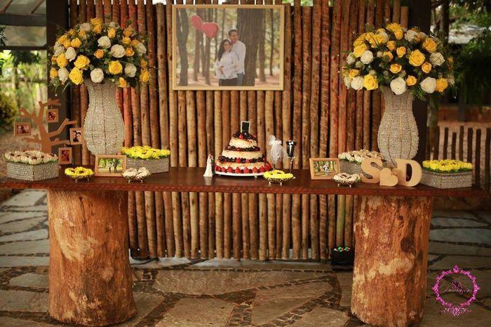 Minhas ideias - decoração casamento country. - 2
