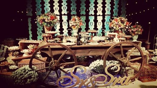 Minhas ideias - decoração casamento country. - 6