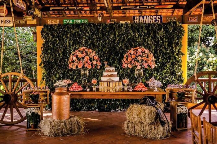 Minhas ideias - decoração casamento country. - 7