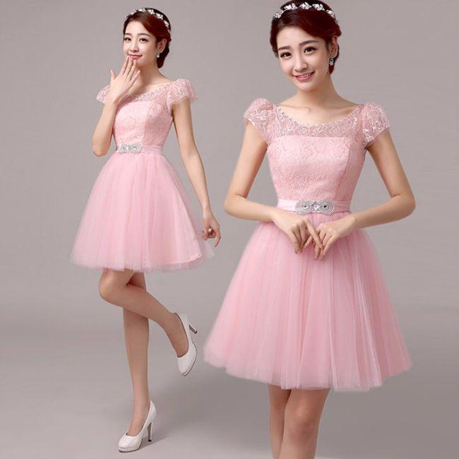 Increíble Vestido De La Dama Adolescente Modelo - Ideas de Estilos ...