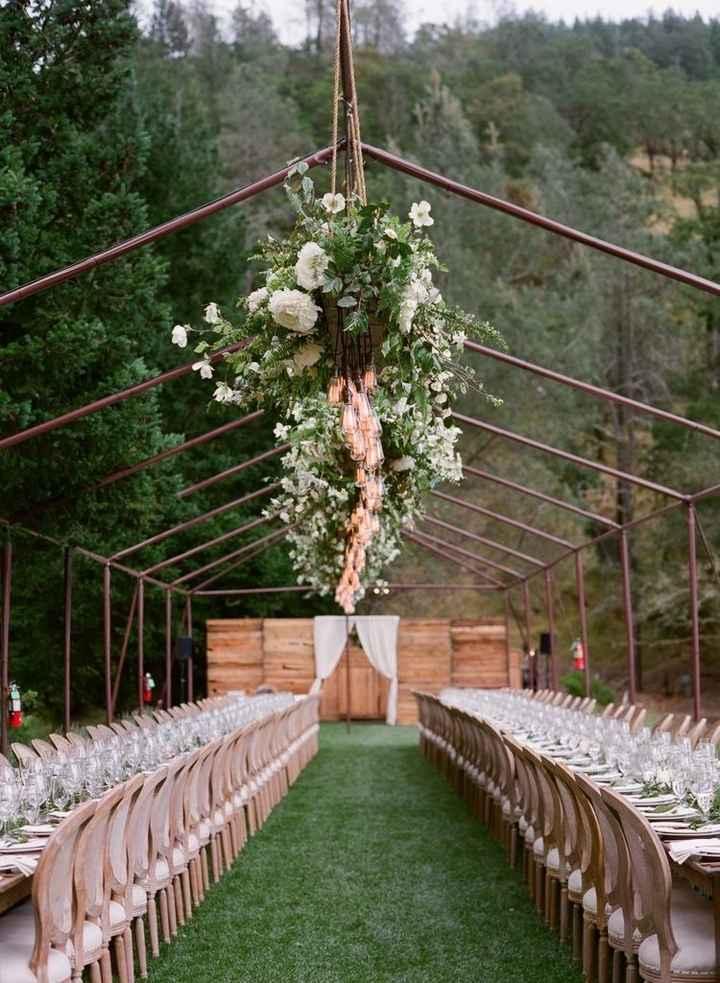 Casamento ao ar livre - 1