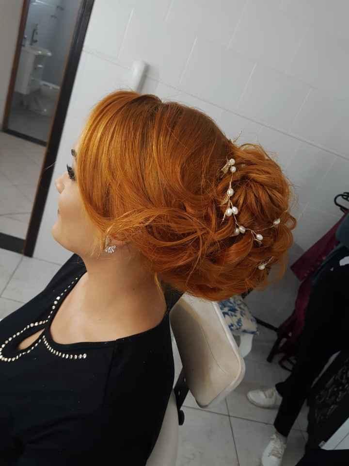 Minha prova de make e cabelo ! ❤️ - 2