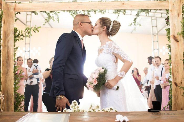 Casamentos reais 2019: o beijo no altar 10