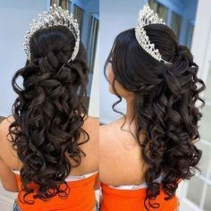 Como será o seu penteado de noiva? - 1
