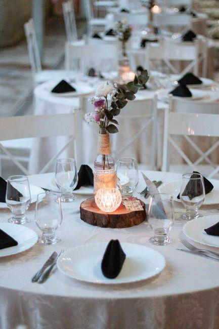 Centro de mesa convidados 💕 1