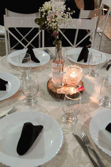 Centro de mesa convidados 💕 2