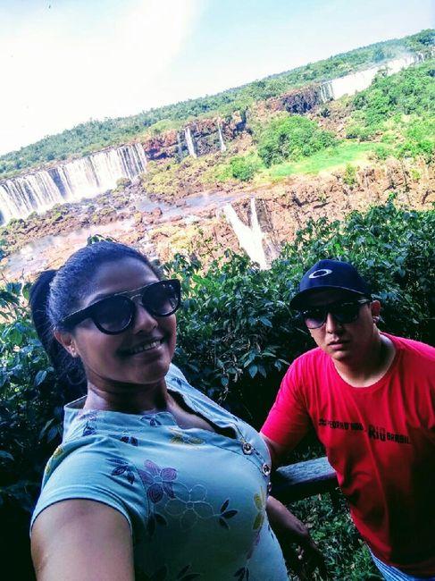 1° Viagem casados - Foz do Iguaçu -💗💙 2