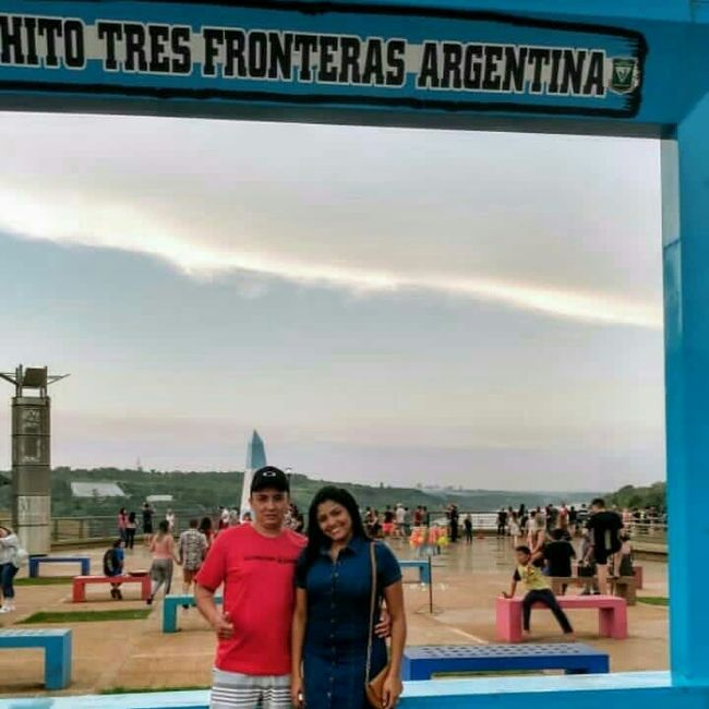 1° Viagem casados - Foz do Iguaçu -💗💙 4
