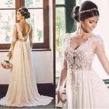 Vestido de noiva para casamento de manhã 3