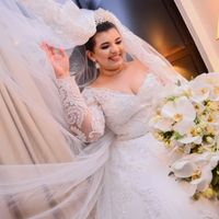 A noiva!