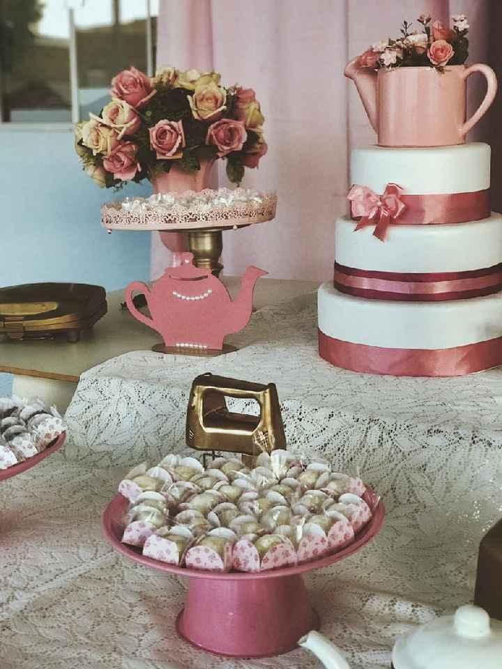Meu chá de cozinha 😍❤ - 1