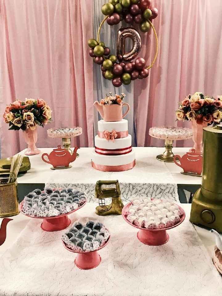 Meu chá de cozinha 😍❤ - 3