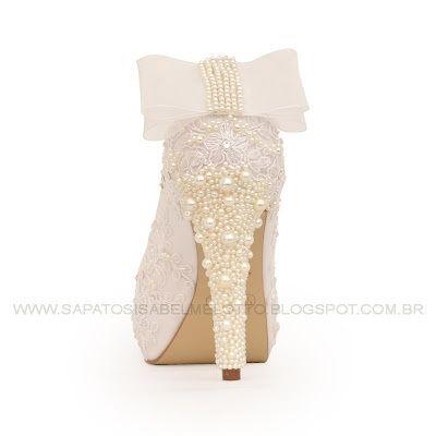 Sapato de Pérolas